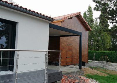 Pergola bioclimatique à Bourgneuf en Retz – 44580