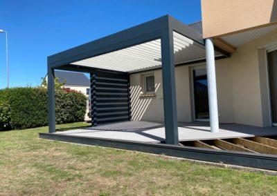 Installation d'une Pergola Bioclimatique a Ste-Luce-Sur-Loire