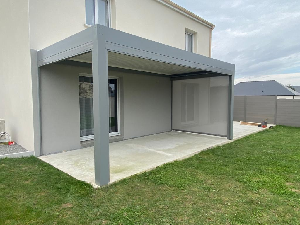 Pergola bioclimatique Joué Sur Erdre - Nantes