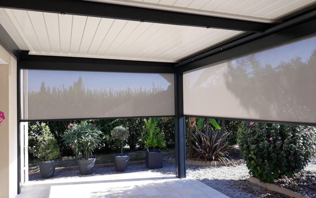 Pergola bioclimatique à Blain – 44130