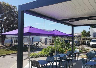 Pergola bioclimatique à Nantes – 44100 Chantenay