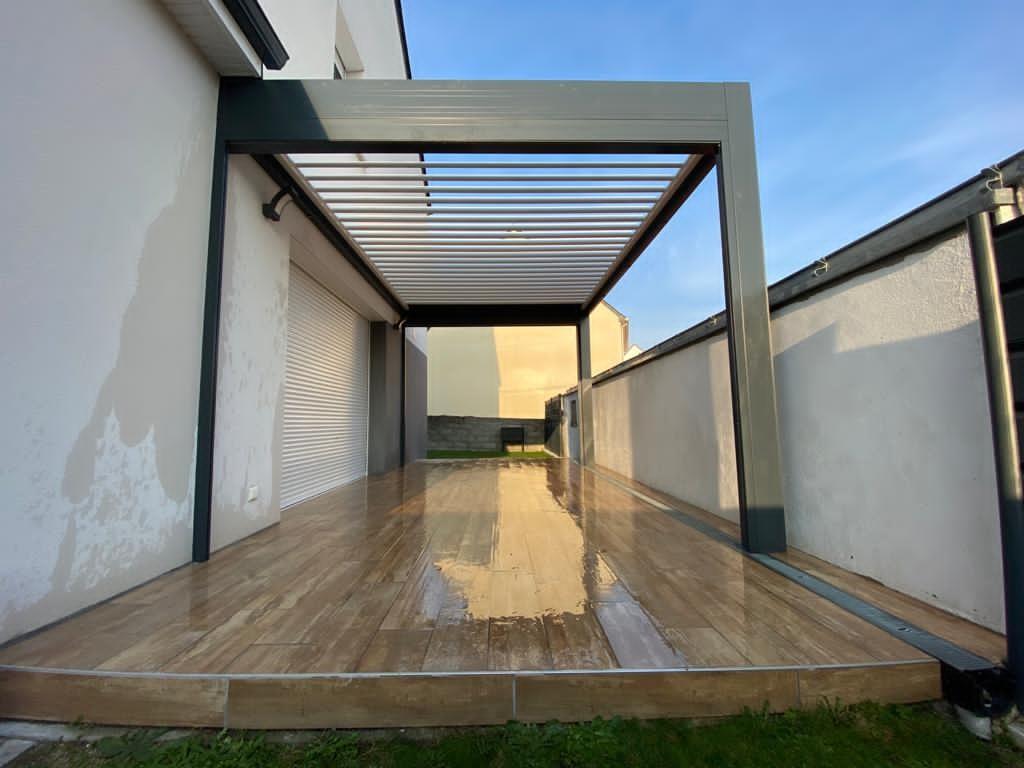 Pergola Bioclimatique a Thouaré sur loire - Nantes