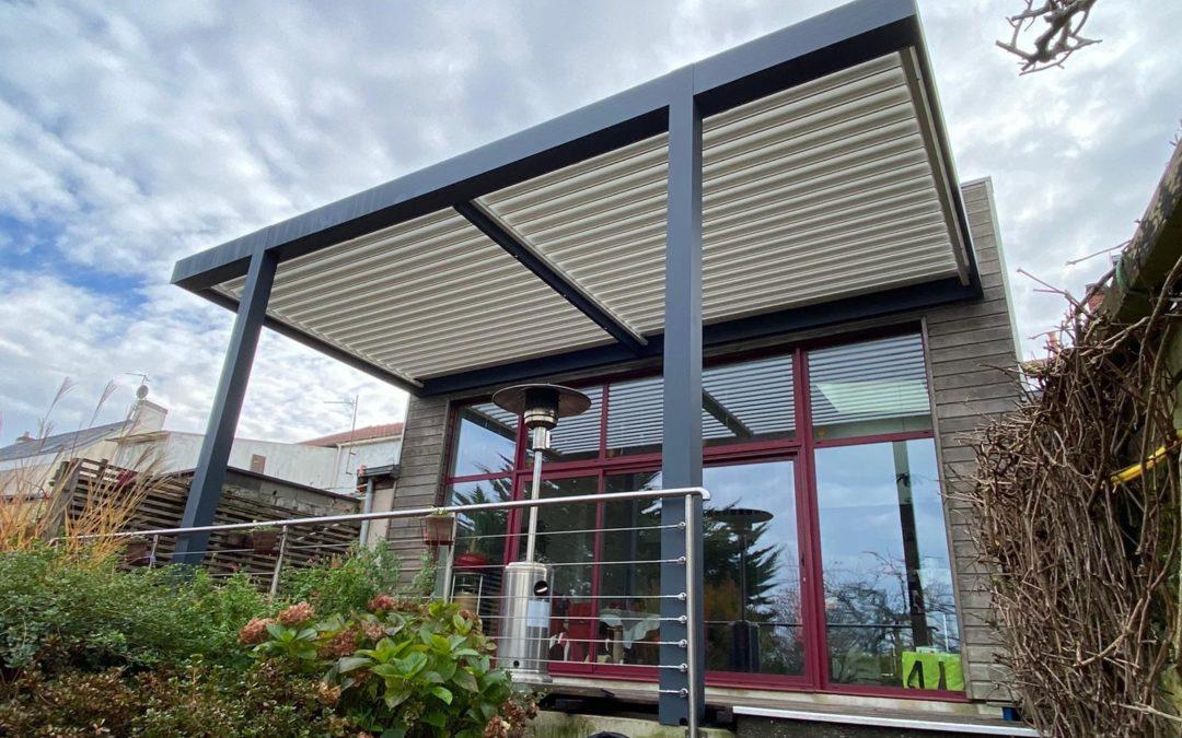 Pergola Bioclimatique à Vertou (44120)