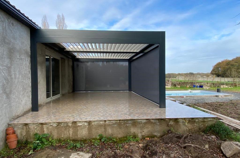 Pergola Bioclimatique à Château-Thébaud  (44690)