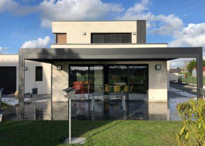 Pergola Bioclimatique à Nort-sur-Erdre (44110)
