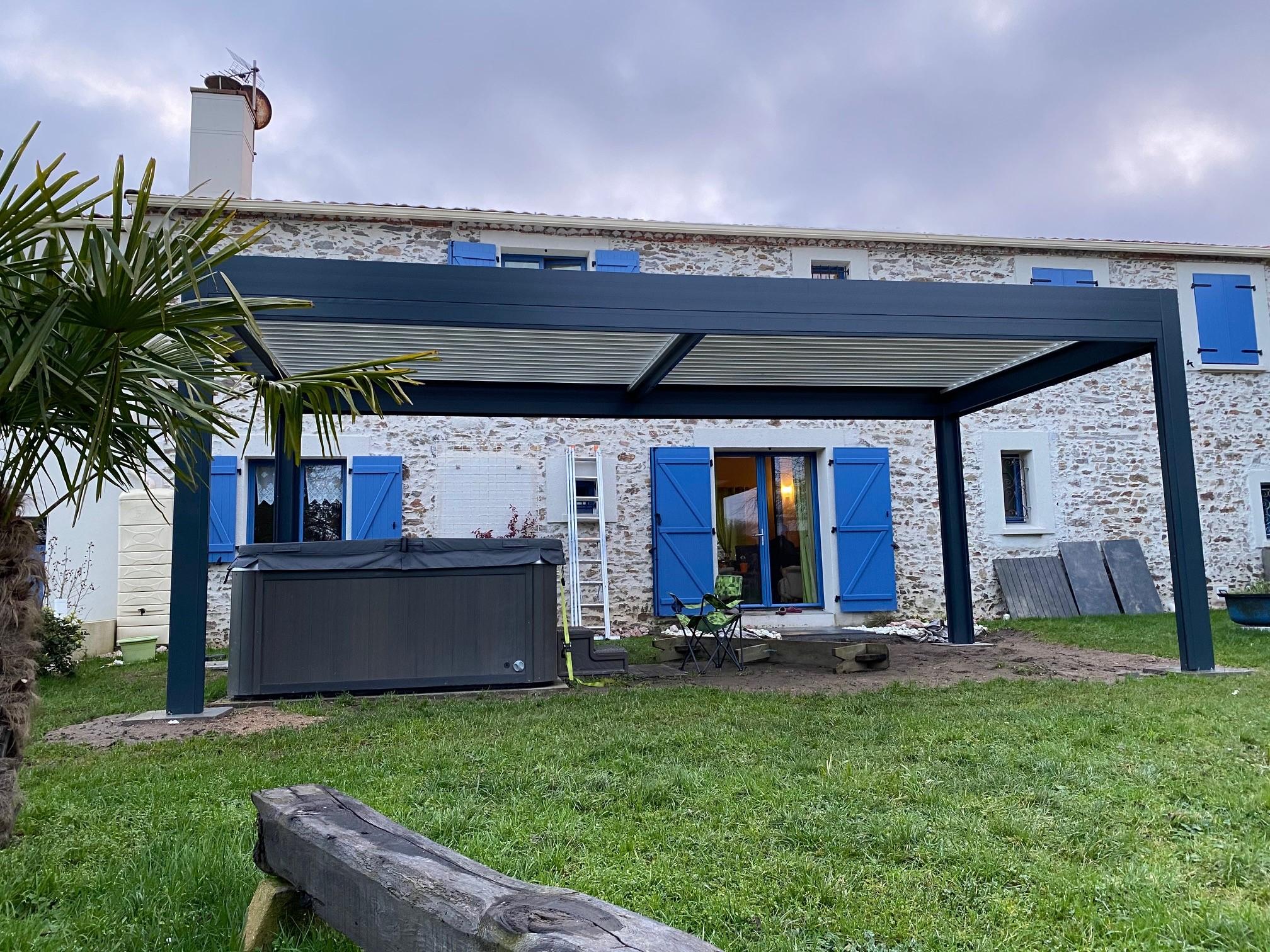 pergola bioclimatique Sant-Sébastien-Sur-Loire
